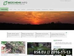 Miniaturka domeny bezchemii.info