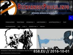 Miniaturka domeny bezkarnoscpolicji.info