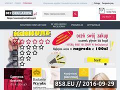Miniaturka domeny www.bezokularow.pl