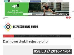 Miniaturka domeny bezpieczenstwo-pracy.blog.pl