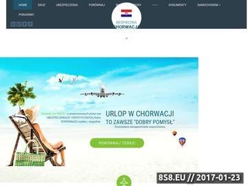 Zrzut strony Artykuły o bezpieczeństwie w Chorwacji