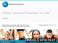 Miniaturka domeny www.bezpiecznakosmetyka.pl