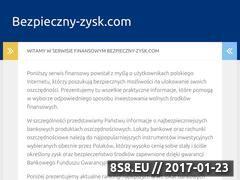 Miniaturka domeny bezpieczny-zysk.com