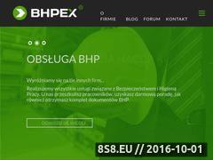 Miniaturka domeny bhpex.pl