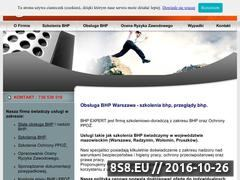 Miniaturka domeny bhpexpert.com.pl