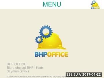 Zrzut strony Doradztwo, szkolenia, audyt, analiza, kadry BHP