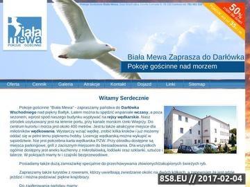 Zrzut strony Wczasy Darłówko