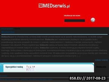 Zrzut strony Białaczka Wrocław
