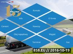 Miniaturka domeny www.bialchem.pl