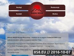 Miniaturka domeny bialka-widok.pl