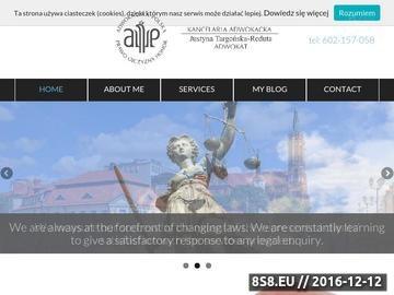 Zrzut strony Adwokat Białystok