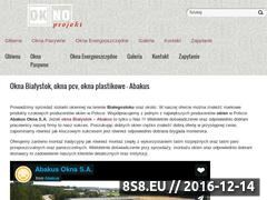 Miniaturka domeny bialystok.pcv-okna.pl