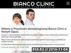 Miniaturka domeny www.biancoclinic.pl
