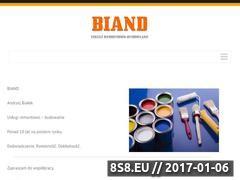 Miniaturka domeny biand.pl