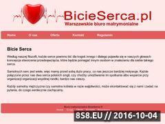 Miniaturka domeny www.bicieserca.pl