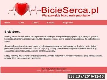 Zrzut strony Agencja matrymonialna Warszawa
