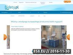 Miniaturka domeny www.bidety.pl