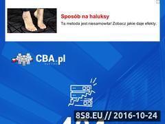 Miniaturka domeny bierdzany.cba.pl