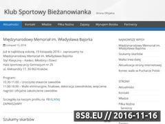 Miniaturka domeny www.biezanowianka.pl