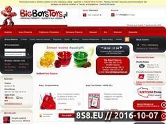 Miniaturka domeny www.bigboystoys.pl