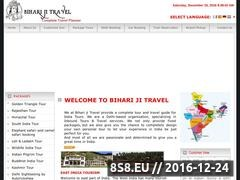 Thumbnail of Tours and Travels in Delhi Website