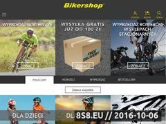 Miniaturka domeny www.bikershop.pl