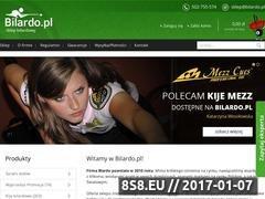 Thumbnail of Sklep bilardowy Website