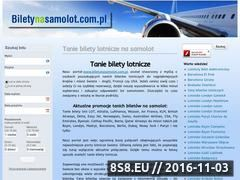 Miniaturka domeny www.biletynasamolot.com.pl