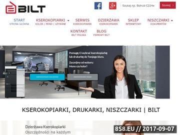 Zrzut strony Bilt
