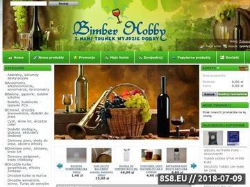 Zrzut strony Butla na wino - sklep BIMBERHOBBY