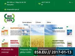 Miniaturka domeny bio-gen.pl