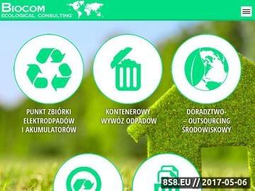 Zrzut strony Doradztwo ekologiczne - Biocom