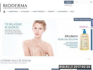 Zrzut strony Kosmetyki Bioderma