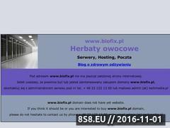 Miniaturka domeny biofix.pl