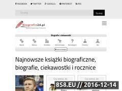 Miniaturka domeny biografia24.pl