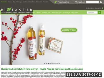 Zrzut strony Kosmetyki ekologiczne i mydła naturalne