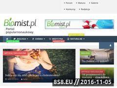 Miniaturka domeny biomist.pl