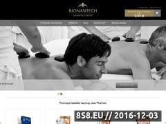 Miniaturka domeny www.bionantech.com.pl