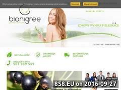 Miniaturka domeny bionigree.pl