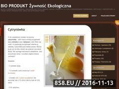 Miniaturka domeny bioprodukt.wordpress.com