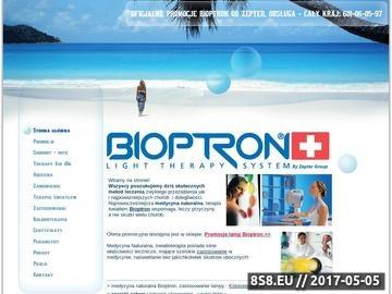 Zrzut strony Medycyna Naturalna Bioptron