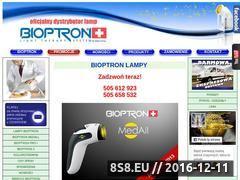 Miniaturka domeny www.bioptron.hg.pl