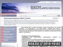 Miniaturka domeny biorezonans-bikom.pl