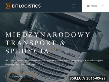 Zrzut strony Usługi Transportowe