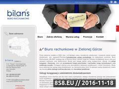 Miniaturka domeny biuro-bilans.net.pl