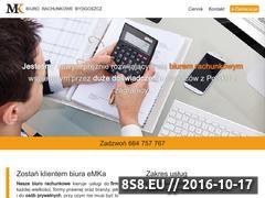Miniaturka domeny www.biuro-emka.pl