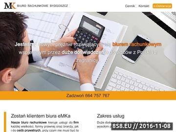Zrzut strony Usługi księgowe, rachunkowość