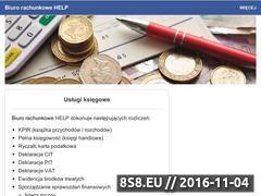 Miniaturka domeny www.biuro-help.pl
