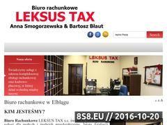 Miniaturka domeny www.biuro-leksus.pl