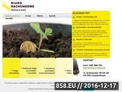 Miniaturka domeny www.biuro-lucka.pl